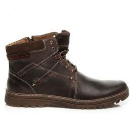 KOŽENÉ ZATEPLENÉ BOTY Pánská obuv