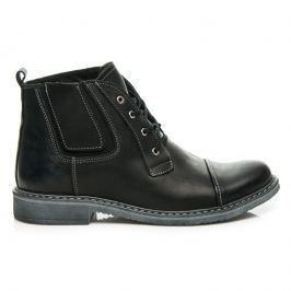 KOŽENÉ BOTY LUCCA Pánská obuv
