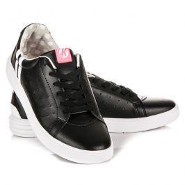 ČERNÉ ŠNĚROVACÍ TENISKY Dámská obuv
