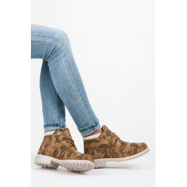 NÍZKÉ KOTNÍKOVÉ TRAPERY Dámská obuv