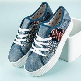DÁMSKÉ TRAMPKY NA PLATFORMĚ Dámská obuv