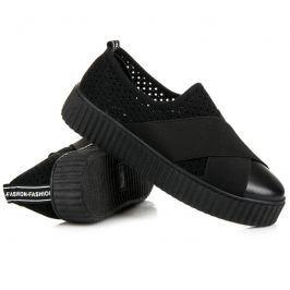 AŽUROVÉ TENISKY CREEPERSY Dámská obuv