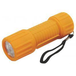 LED svítilna plastová - 6 LED diod na 3xAAA