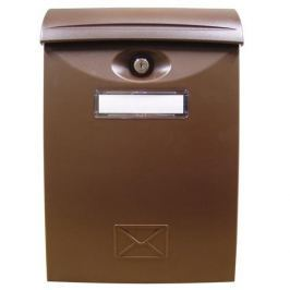 Poštovní schránka ABS 24x34x7cm -   bílá