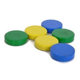Magnet kancelářský - zelený 20x5mm