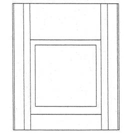 Výlez střešní do ploché krytiny - hliník (Al) hnědý elox