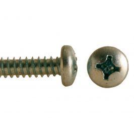 Šroub do plechu ZnB, půlkulatá hlava, DIN 7981 -  4.8x16