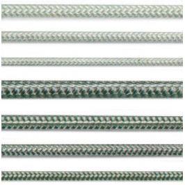 Lana a šňůry PA pletená Lanex - 14mm s jádrem bílé