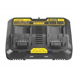 DeWALT DCB102 nabíjecí stanice XR pro 2 baterie