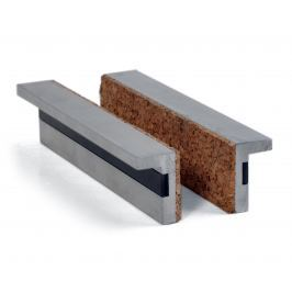 Vložky čelistí svěráku korek  - korek 125mm