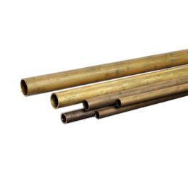 Trubka mosaz - 16x1.0mm