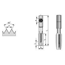 Závitník BIT metrický HSS/2N 1/4