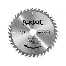 Kotouč pilový s SK plátky Extol Premium - 140x2.0x16mm 30z