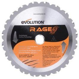 Pilový kotouč Evolution Rage TCT multifunkční - 185mm 20zubů