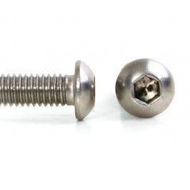 Šroub button imbus nerez A2, ISO 7380, půlkulatá hlava - M5x20