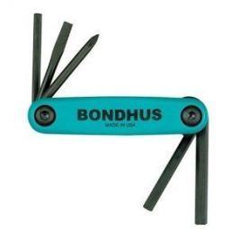 Sada imbus klíčů kapesní bike BIKE FOLD UP  Bondhus 12540