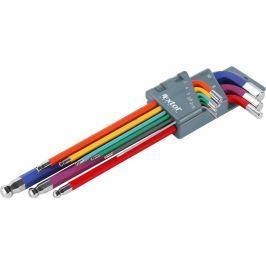 Sada imbus klíčů 9ks 1.5-10mm barevné Extol Premium 8819315