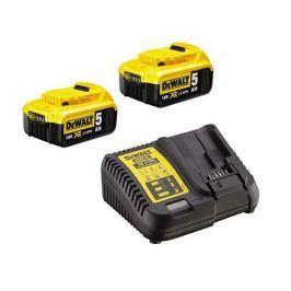 DeWALT DCB115P2 sada nabíječky a baterií 18V XR Li-Ion s kapacitou 5,0Ah