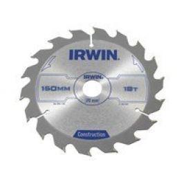 Kotouč pilový ruční konstrukce Irwin - 160x2.5x20mm 18T