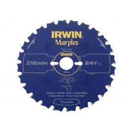 Kotouč pilový Marples Irwin - 216x2.5x30mm 24T Kotouče pilové