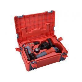 Extol Premium 8898311 aku šroubovák 12V + bruska úhlová 125mm + box