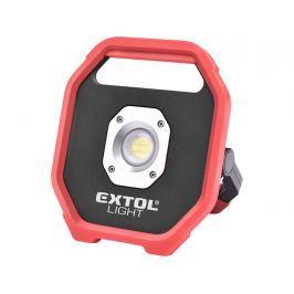 Reflektor LED 10W na baterie Extol Light 43260