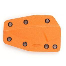Pouzdro kydexové Mikov List - oranžové