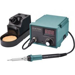 Extol Industrial 8794520 pájecí stanice s LCD, s regulací, 70W