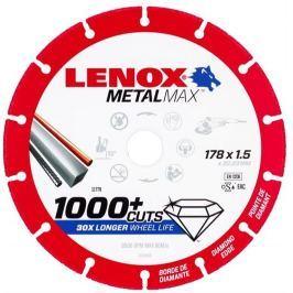 Kotouč diamantový řezný Metalmax Lenox - AG 178x22,2x1,5mm