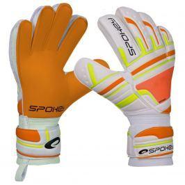 Brankářské rukavice SPOKEY Intense 4 oranžové