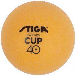 Míčky na stolní tenis STIGA CUP ABS - oranžové