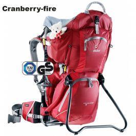 Krosna na dítě DEUTER Comfort II - cranberry-fire