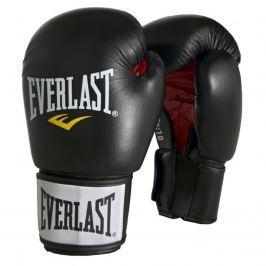Boxerské kožené rukavice EVERLAST Moulded Ergo černé