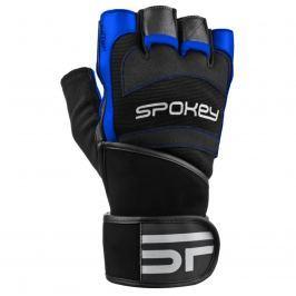 Fitness rukavice SPOKEY Miton černo-modré - vel. L