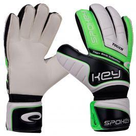 Brankářské rukavice SPOKEY Touch 11 zelené