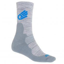 Sensor EXPEDITION Merino Wool ponožky šedá-modrá