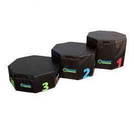 Stupně vítězů - set tréninkových plyo boxů MASTER 30, 45 a 60 cm