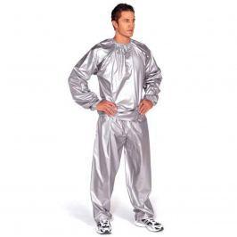 Hubnoucí sauna oblek EVERLAST PVC stříbrný