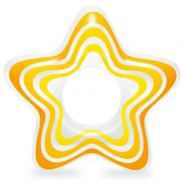 Nafukovací kruh INTEX Hvězda - žlutý