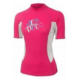 Lycrové triko AROPEC Myth dámské růžové - vel. XS