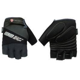 Cyklo rukavice POLEDNIK Soft Grip pánské velikost L - černé