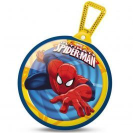 Skákací míč MONDO s držadlem Spiderman 45 cm