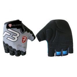 Cyklo rukavice POLEDNIK Pánské F3 bílo-černé, vel. M