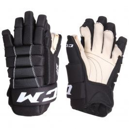Hokejové rukavice CCM 4R III senior, černo-bílé vel. 15