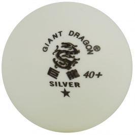 Míčky na stolní tenis DRAGON Cup* - bílé 6 ks