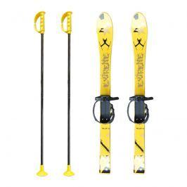 Baby Ski 90 cm - dětské plastové lyže - žluté