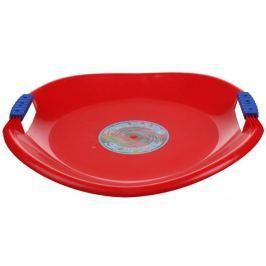 Sáňkovací talíř Tornado Super - červený