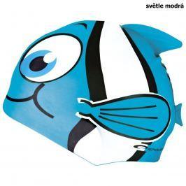 Plavecká čepice SPOKEY Rybka - sv. modrá