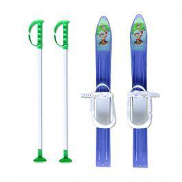 Baby Ski 60 cm - dětské plastové lyže - modré