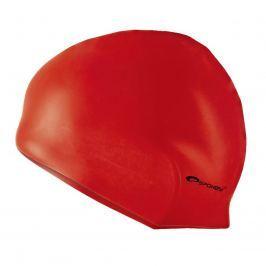 Plavecká čepice SPOKEY Summer - červená